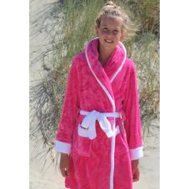 Little Pink-white kinderbadjas met capuchon badjas aanbiedingen Badrock