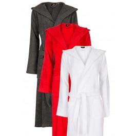Capuchon badjas in diversen kleuren