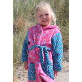Kinderbadjas Meisjes badjas met capuchon