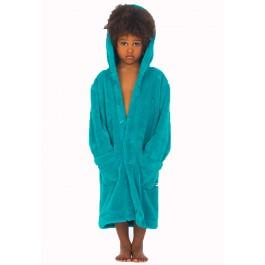 Kinderbadjas Turquoise badjas Woody