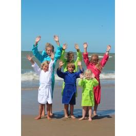 Kinderbadjas in diverse kleuren