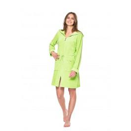 Groene badjas met rits