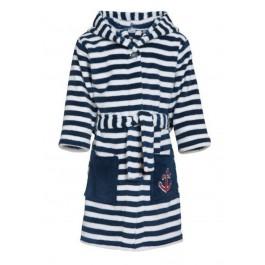 Kinderbadjas met strepen