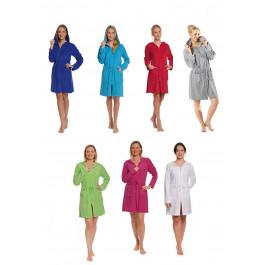 Badjas met rits in trendy kleuren