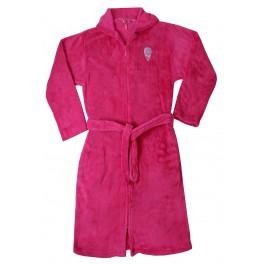 Kinderbadjas Roze kinderbadjas met rits