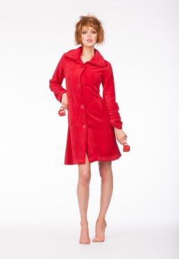 Korte badjas rood