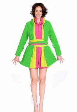 Groene badjas dames