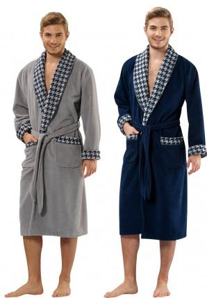 Heren badjas voor de sauna