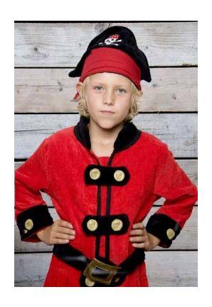 Piraten badjas / kinder badjas