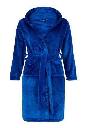 Teiner badjas koningsblauw