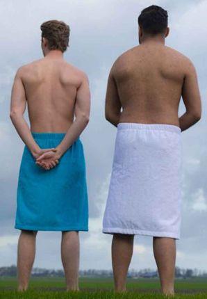 sauna omslagdoek heren