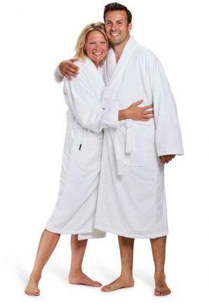 witte badjas kopen