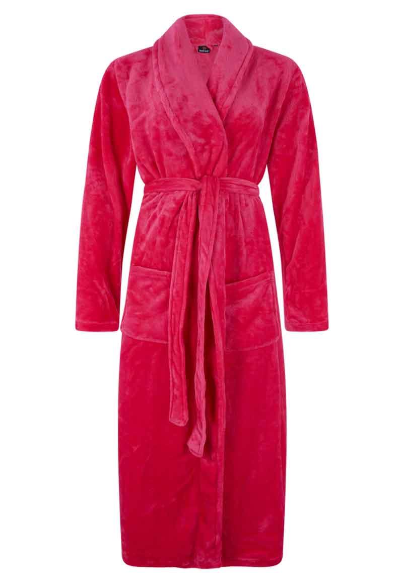 Pink - Dames Badjas - L/XL