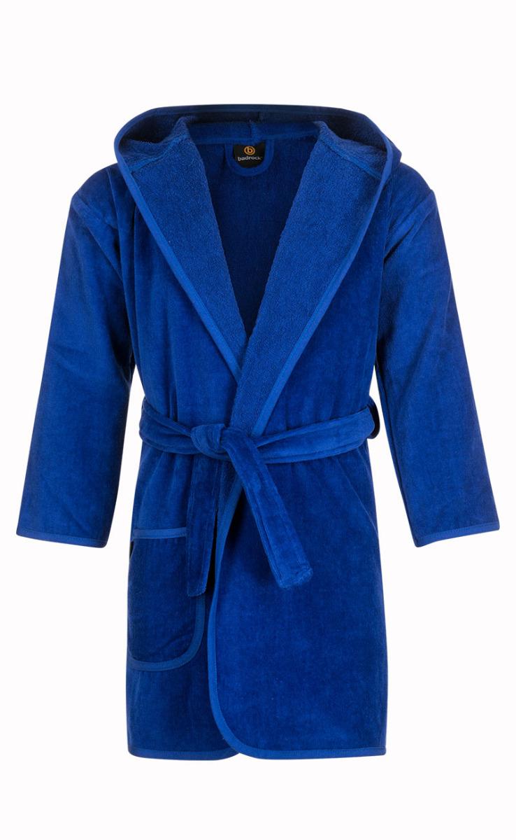 Baby badjas kobaltblauw met capuchon-1-2 jaar (92)