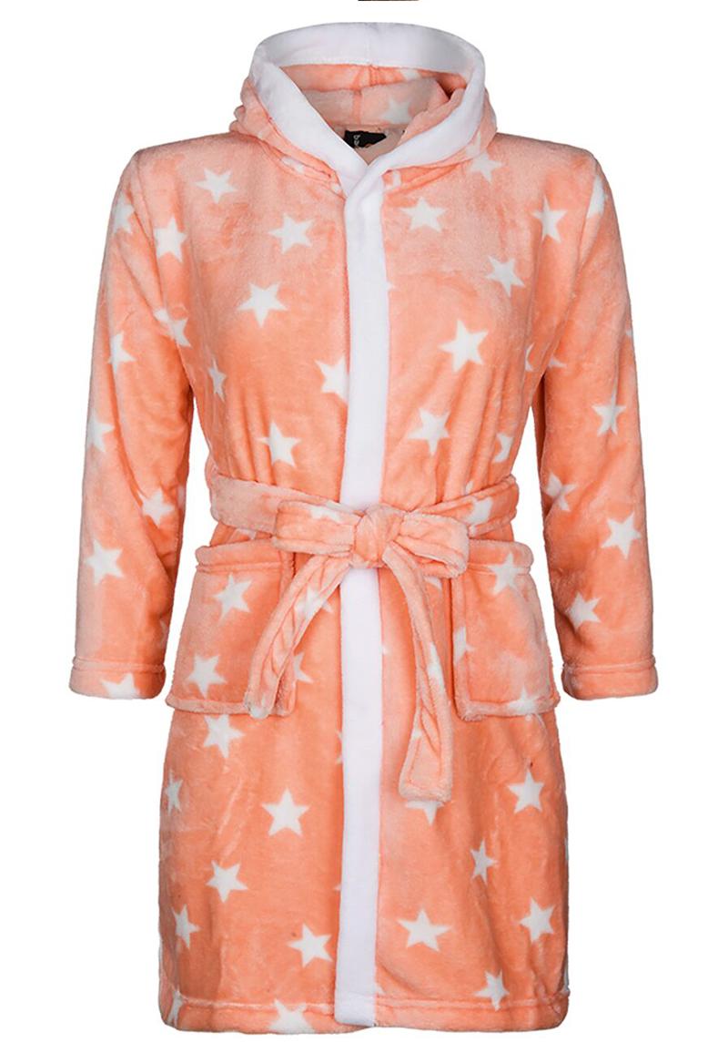 Kinderbadjas met sterren-XL (11-13 jaar)