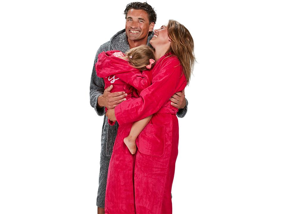 Een badjas is geschikt voor echt iedereen! Dames badjassen - Heren badjassen - Kinderbadjassen