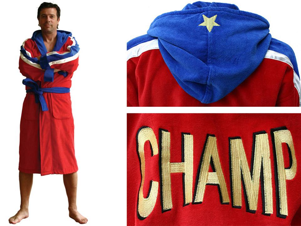 Badjas voor kampioenen online kopen