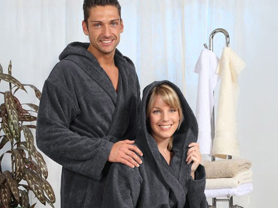 Badjas voor de voluptueuze vakantieganger - badjas voor dames en heren