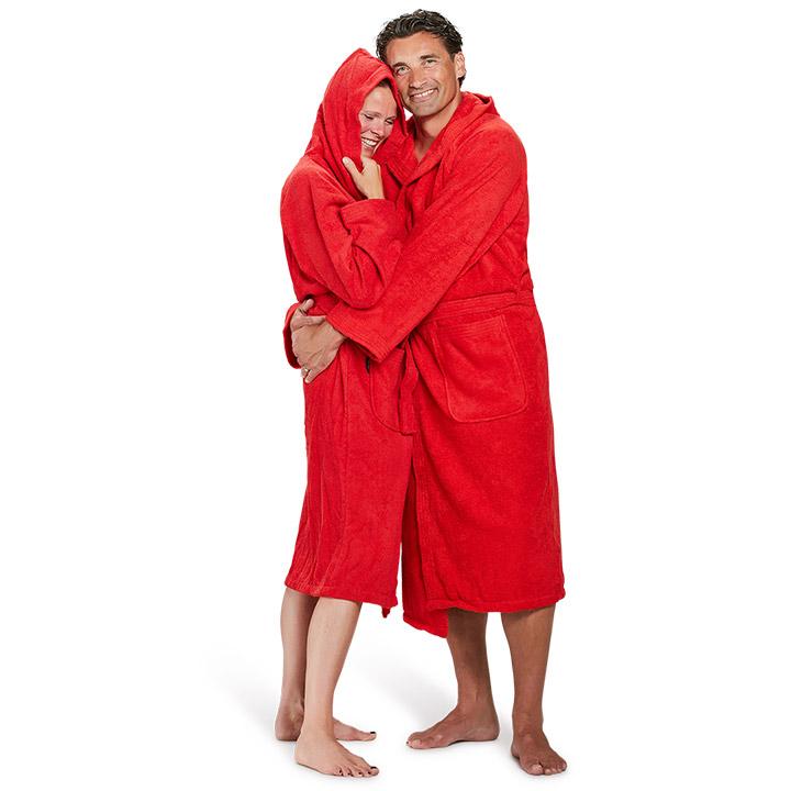 Verras je geliefde met een badjas voor Valentijn!