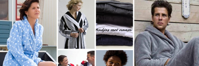 Badjassen voor mannen, vrouwen en kinderen bij Badjasparadijs