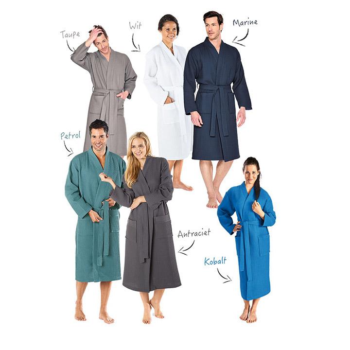 Badrock badjassen voor thuis of in de sauna