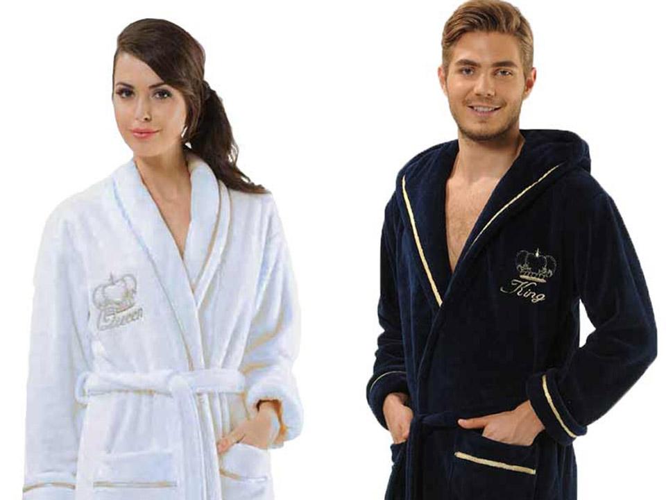 Gepersonaliseerde badjassen