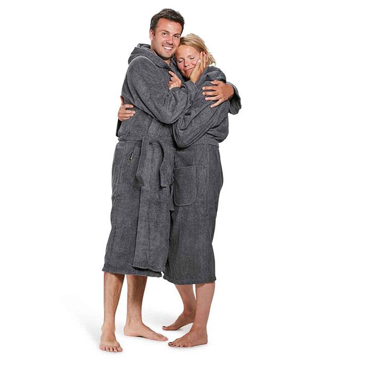 Modellen badstof badjassen