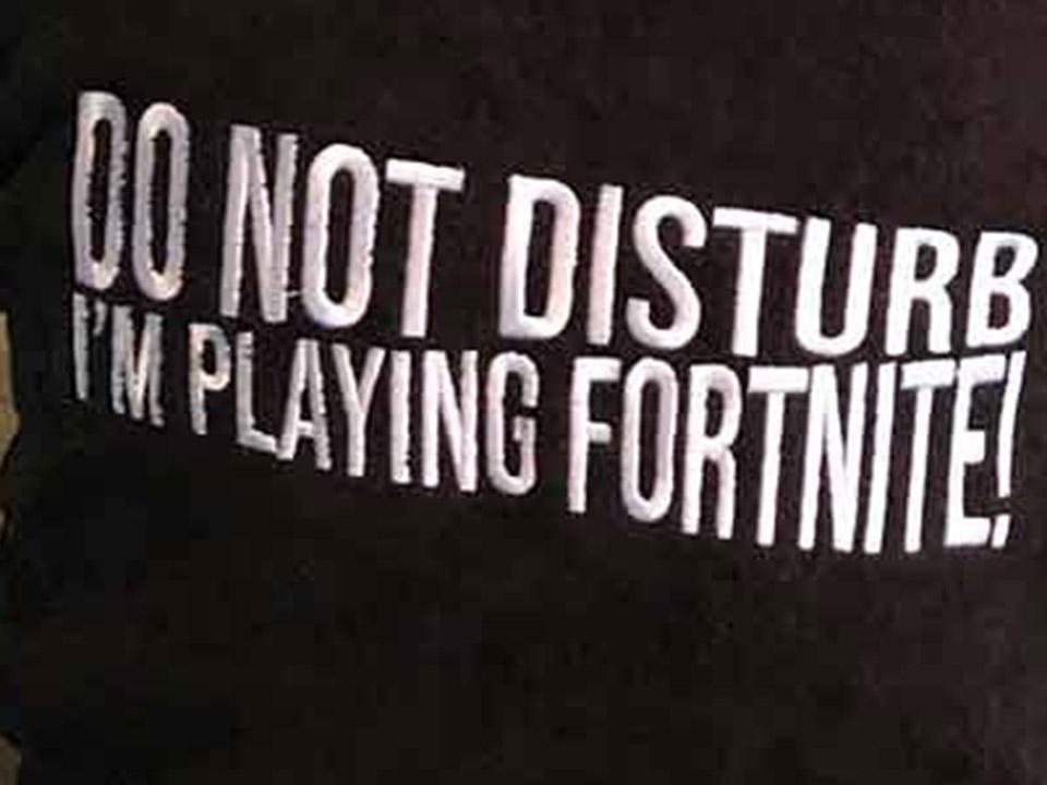 'I'm playing Fortnite' sokken