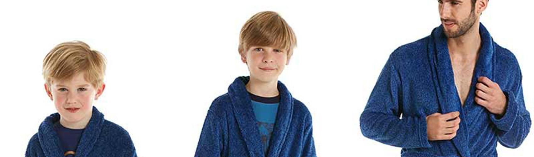 Soorten badjassen voor jongens
