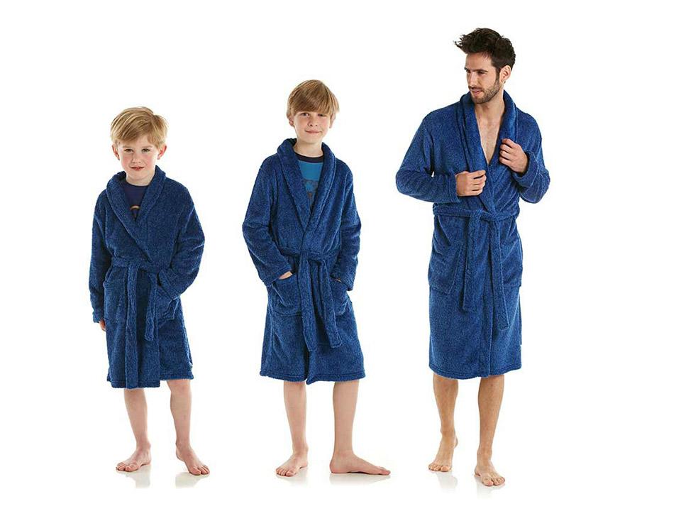 Sportieve badjassen met naam