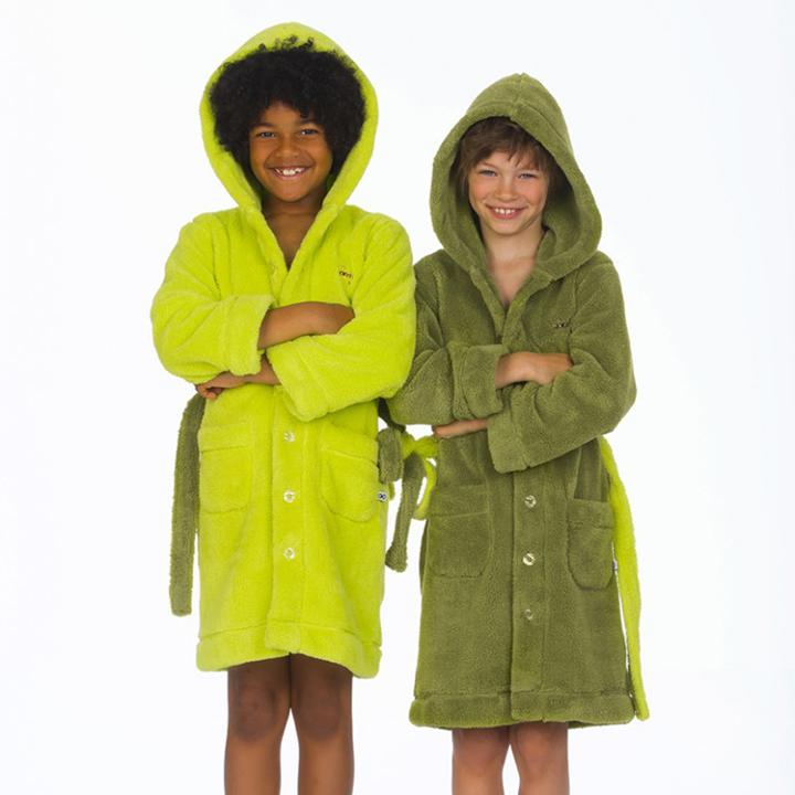 Trendy badjas voor kinderen