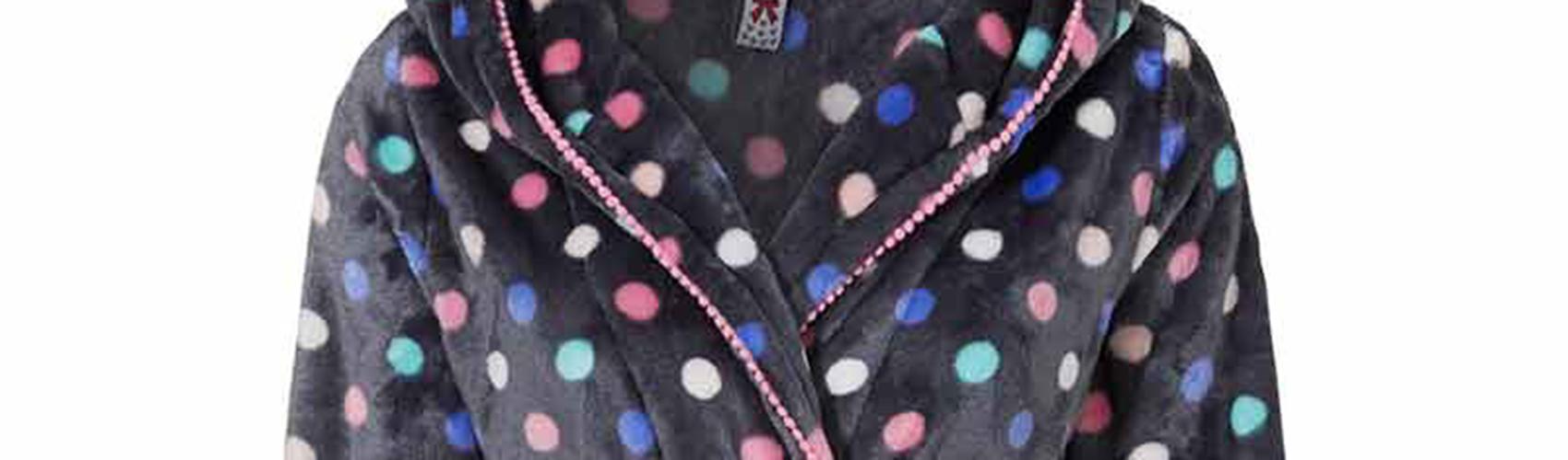 Trendy badjassen met leuke ontwerpen