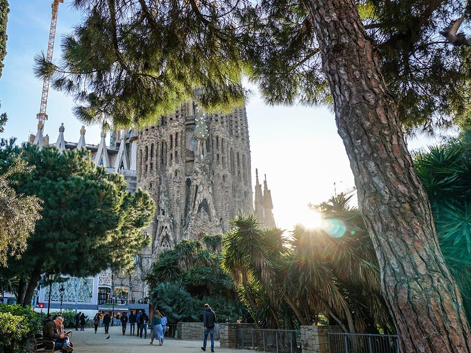 Waan jezelf in Barcelona