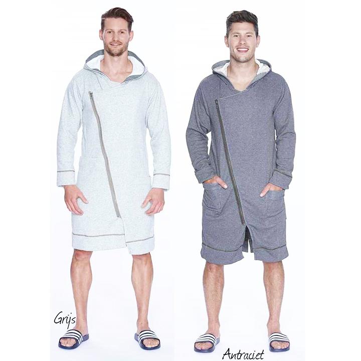 Waarom een badjas met rits?