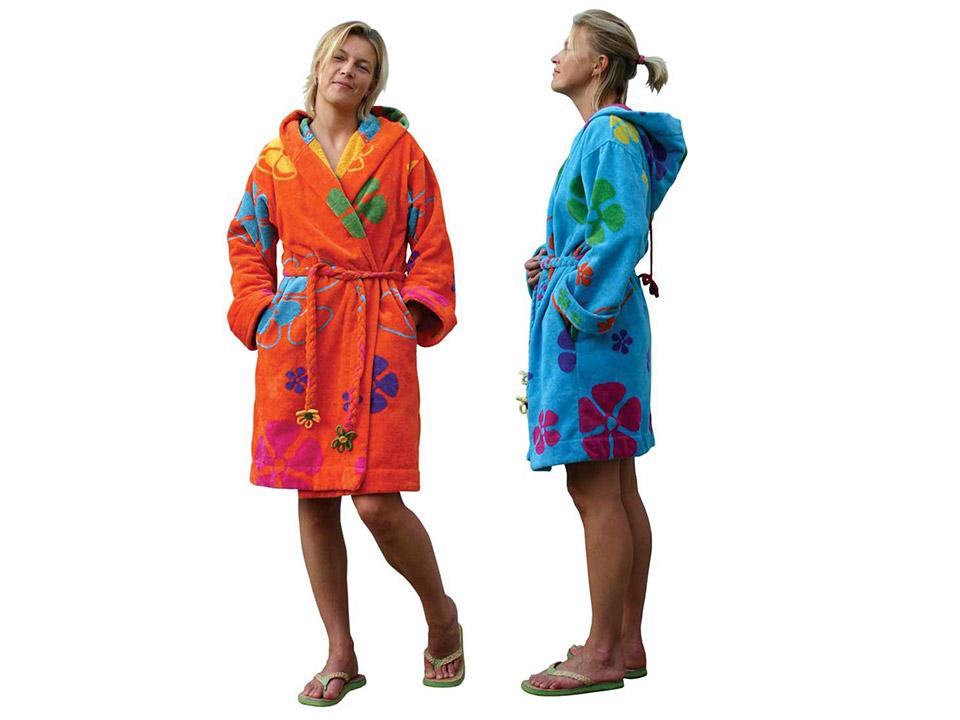 Wanneer draag je je badjas op vakantie?