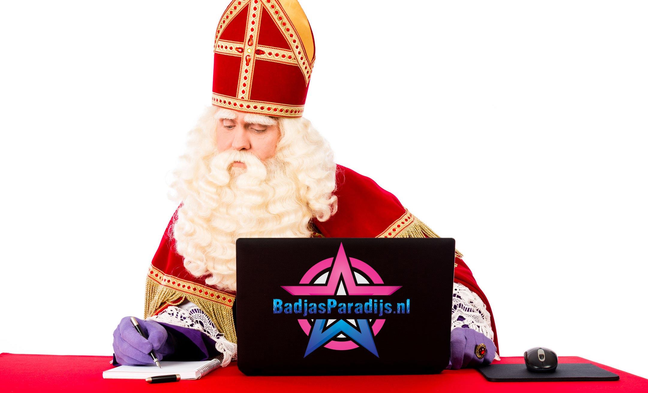 Badjas voor Sinterklaas