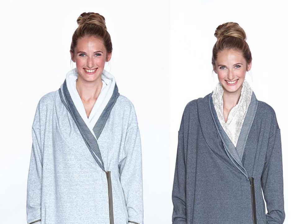 Een badjas is eigenlijk gewoon een warme deken