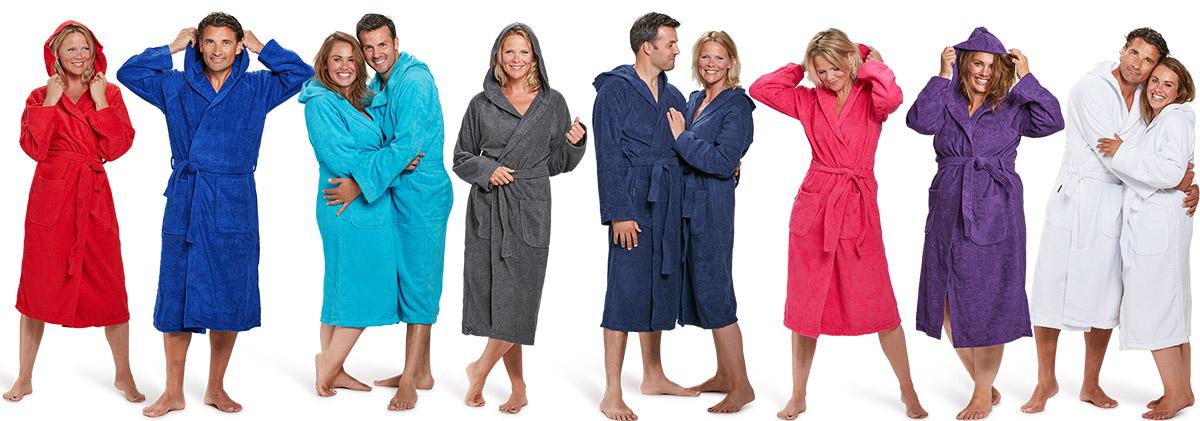 badjassen kopen in diversen kleuren