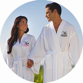 badjas voor huwelijk
