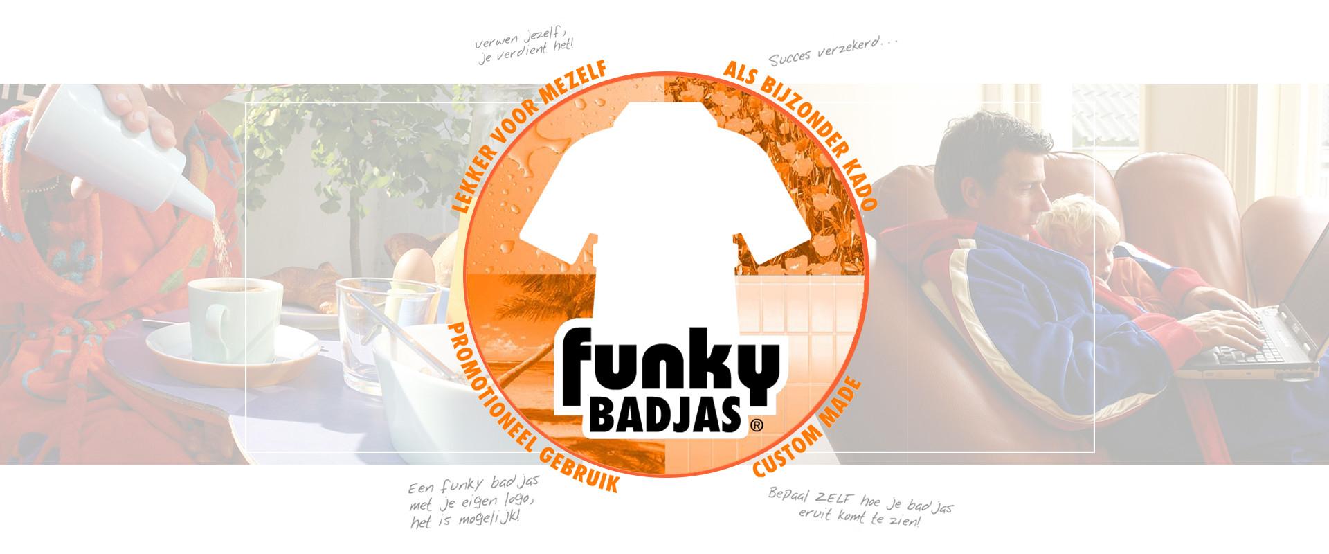 funky badjas kopen bij badjas.nl