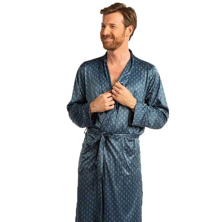 Een herenbadjas in elke stijl