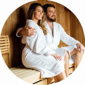 sauna badjassen