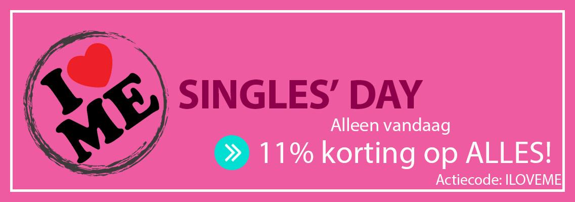 singles day badjas korting