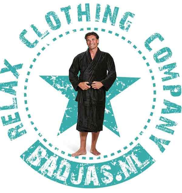 badjas met logo
